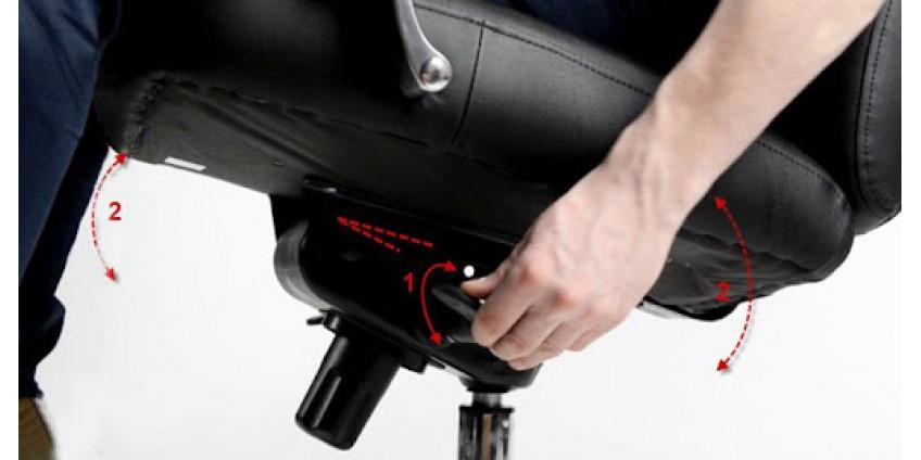 Механізми, які використовуються в офісних кріслах