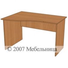 Стіл для персоналу БЮ107 1200x840/600x750мм