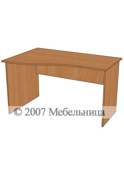 Стіл для персоналу БЮ109 1300x840/600x750мм