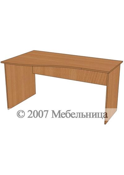 Стіл для персоналу БЮ111 1400x840/600x750мм