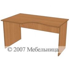 Стіл для персоналу БЮ113 1400x840/700x750мм