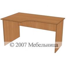 Стіл для персоналу БЮ115 1400x840/600x750мм