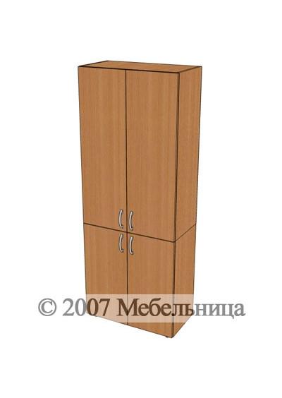 Шкаф БЮ406 700x347x1825мм